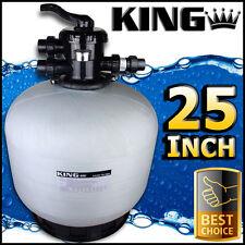 "25"" Pool Filter - Sand Fibreglass Swimming 25 Inch Fiberglass Genuine -"