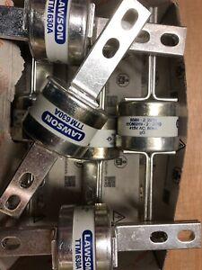 3 Off Lawson TTM630. 630A Fuse Links