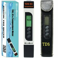 Quality TDS, EC & Temperature Meter, Water Quality Test Meter