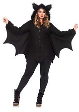 Leg Avenue Women's Cozy Bat Costume, Black,3X/4X, 85311X