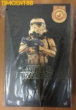Ready! MMS364 Star Wars Stormtrooper Gold Chrome Version 1/6