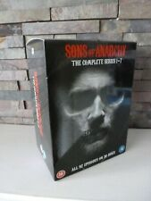 SONS OF ANARCHY - SEASONS 1 2 3 4 5 6 7 DVD SET COLLECTION.