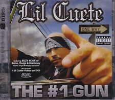 Lil Cuete The 1# Gun CD+DVD New Sealed