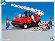 Playmobil rescue 7786 firefighter truck for collectors mint New