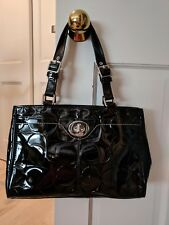 USED Authentic Coach  Handbag Patent  Leather