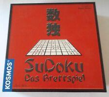 Sudoku Das Brettspiel von Reiner Knizia Kosmos Familienspiel ab 10 Jahre