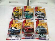 Hot Wheels '65 Ford Mustang -Cadillac -Custom Datsun 240z-Morris-BMW-'85 Honda.