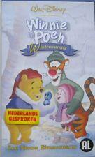 WINNIE DE  POEH - WINTERWARMTE  - WALT DISNEY - VHS