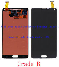 B Gray For Samsung Galaxy Note 4 N910V N910P LCD Screen Touch Digitizer Glass