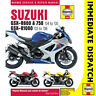 [4382] Suzuki GSX-R600 GSX-R750 2004-05 GSX-R1000 2003-08 Haynes Workshop Manual