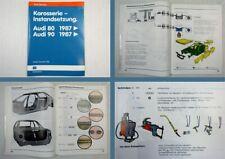 Reparaturleitfaden Audi 80 90 B3 Werkstatthandbuch Karosserie Instandsetzung