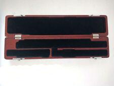 Excellent 17 Holes Wooden Flute Case Beautiful Box