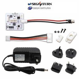 Sega SaturnPSU Board and PSU - 12V Power Supply Replacement Kit For SEGA Saturn