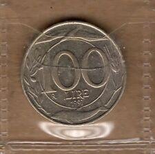 P424 Moneta Coin ITALIA Repubblica Italiana 100 Lire Italia Turrita 2° Tipo 1997
