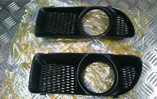 Skoda Felicia 1998-2001 Bumper Fog Light Grille Cover Pair