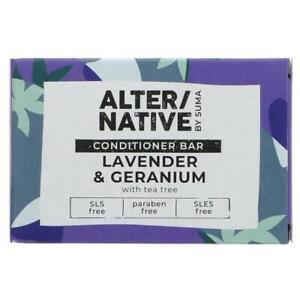 Lavender & Geranium Hair Conditioner Bar by Suma