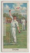 1895 Cricket Bowler Tom Richardsons Wickets 1920s Trade Ad Card