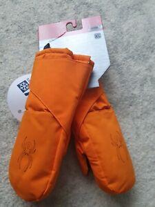 Boy's Spyder Ski gloves / mittens 6-9 Years NWT