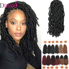 12inch Curly Wavy Faux Locs Synthetic Crochet Afro Locs Braiding Hair Extensions
