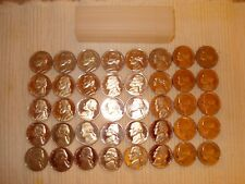 1975 S Jefferson Nickel Gem Cameo Proof Roll 40 US Coins