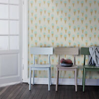 Ice Cream Cone Wall Home  Traditional Non-Woven wallpaper Nursery Pattern Mural