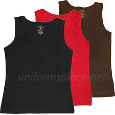 Women's Tank Top Solid Color Cotton Ribbed