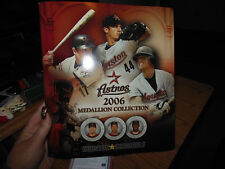 2006 Houston Astros Medallion Collection-complete set of 21-RARE!