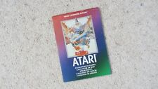 ATARI (2600) CATALOGUE OF GAMES BOOKLET Circa 1982