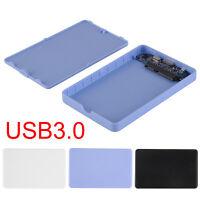 "USB 3.0 2.5"" SSD HD Hard Drive Disk SATA External Enclosure Case Cover Box GA"