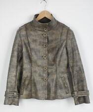 ADOLFO DOMINGUEZ Women's (EU) 38 or ~MEDIUM Snake Faux Leather Jacket 28300-JS