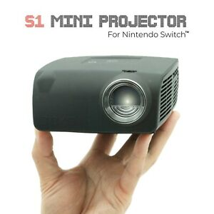 AAXA S1 LED Mini Nintendo Switch Dock Projector 720p HD USBC 400 Lumen (REFURB)