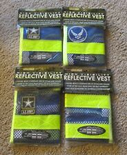 Lot of 4 Jogalite High Visibility Reflective Vests NEW One Size Fits All