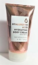 1 Bath Body Works HYALURONIC ACID ROSE WATER Hydrating Body Cream 8 oz