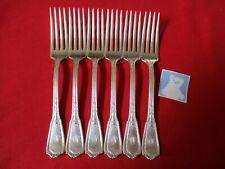 (6) Reed & Barton Silverplate Dinner Forks, 1926 Louis XVI   #13