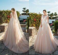 Wedding Dresses cape sleeves V Neck Bridal Gowns Bride 2 4 6 8 10 12 14 16 18 20