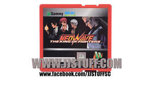 Used Sammy Atomiswave The King of Fighters NeoWave Cartridge (play as Geese)