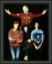 RED HOT CHILLI PEPPERS  A4 SIGNED AUTOGRAPHED PHOTO POSTER  FREE POST