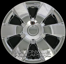 """4 CHROME 14"""" Hub Caps Full Wheel Covers Rim Cap Lug Cover Hubs 6 Spoke Wide Star"""