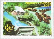 French Polynesia Polynesia 1991 595 577 CCCE Central Bank economic coop. MNH