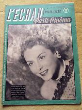 l'écran français paris cinema, n°135, 27 janvier 1947