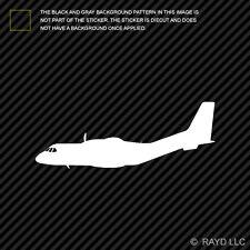 (2x) CN-235 Transport Aircraft Sticker Die Cut Decal Self Adhesive Vinyl cn235