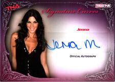 TNA Jenna Morasca 2009 Knockouts Signature Curves SILVER Autograph Card FD