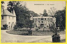 "cpa 77 - DAMMARTIN en GEOLE (Seine et Marne) "" La TUILERIE "" Château Parc"