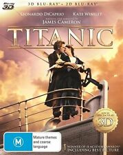 Titanic 3D : NEW 3-D Blu-Ray + DVD