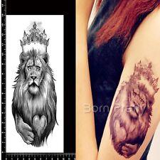 Löwe Muster Wasserfest Einmal Tattoo Körper Tattoos Aufkleber Hauttattoo Schmuck