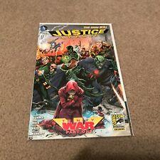 JUSTICE LEAGUE #22 SDCC 2013 Variant NM DC Comics New 52 Trinity War