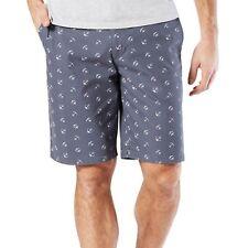 Dockers Indigo Anchor Perfect Shorts Blue Mens Size 32 New