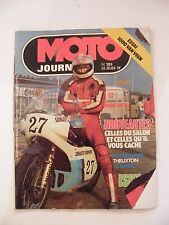 Moto Journal Septembre 1976 N°283 1000 Van Veen