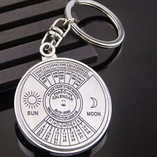 Perpetual Calendar Keyring Keychain Unique Metal Key Chain 50 Years Great Gift