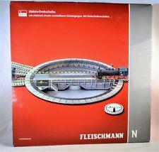 Fleischmann N 9152 C / Komfort-Drehscheibe m. elektrischem Antrieb / NEU+OVP